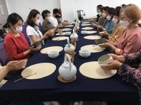 9월 25일자 차문화 최고경영자, 지도자과정 수업
